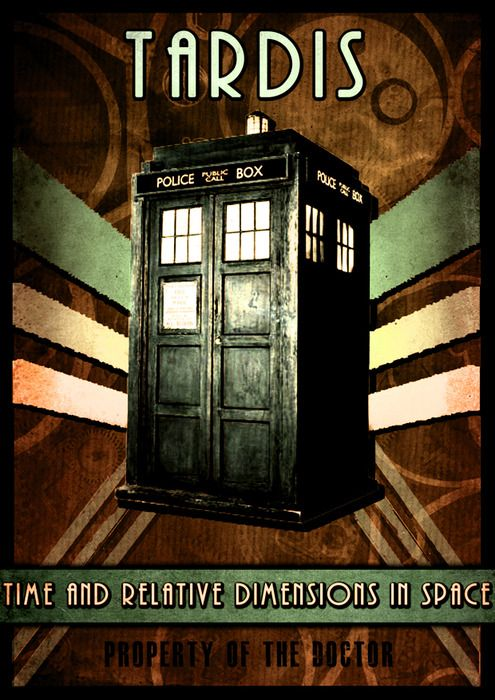 adidaq:    Doctor Who inspired poster