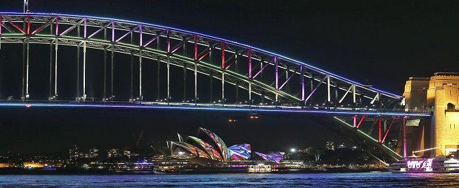 Vivid Sydney Festivali büyüledi - TRT Türk Haberler