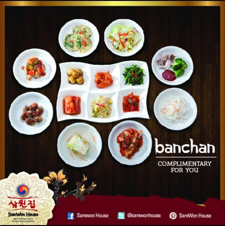 SamWon House - Banchan