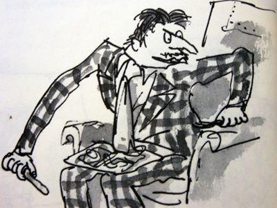 Roald Dahl's Best Villains Mr. Wormwood from Matilda