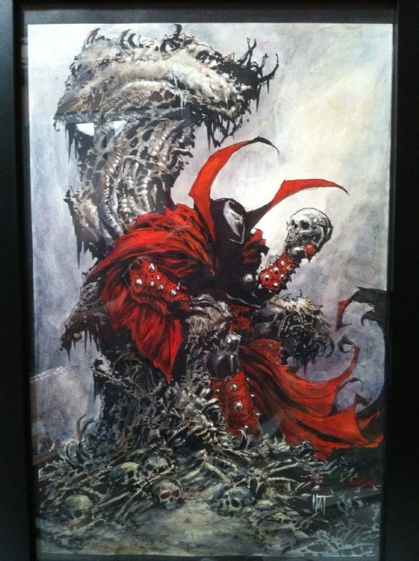 Nat Jones Spawn Painting (Cover Quality), in Shane Turgeon's Comic ...