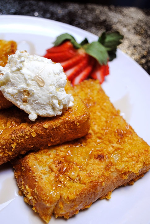 Captain Crunch french toast!!!