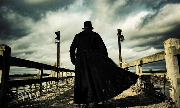 Tilbury Fort, an old artillery fort on the north bank of the Thames Estuary in Essex, England was turned into the historic Wapping docks area in London for the BBC1 drama Taboo