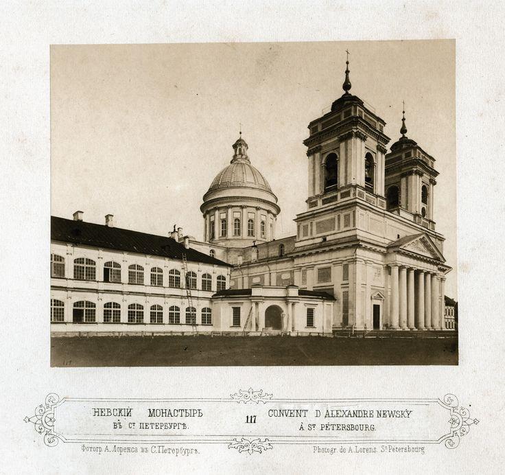 Alfred Lorens - Convent of Alexander Nevsky, 1865