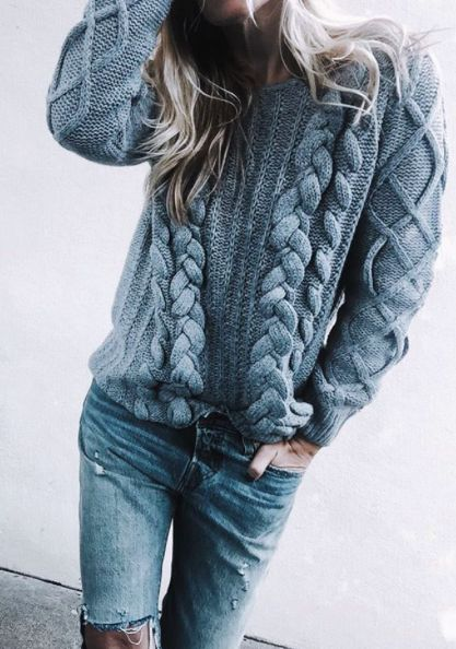 cableknits + denim