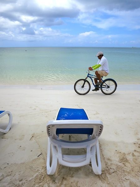 Cuba beaches: Playa Megano at Cayo Ensenachos.