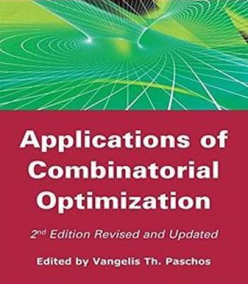Applications Of Combinatorial Optimization 2 Edition PDF