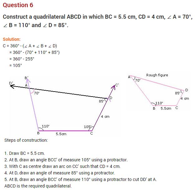 math worksheet : math question for class 8  understanding quadrilaterals ncert  : Maths Worksheet For Class 8