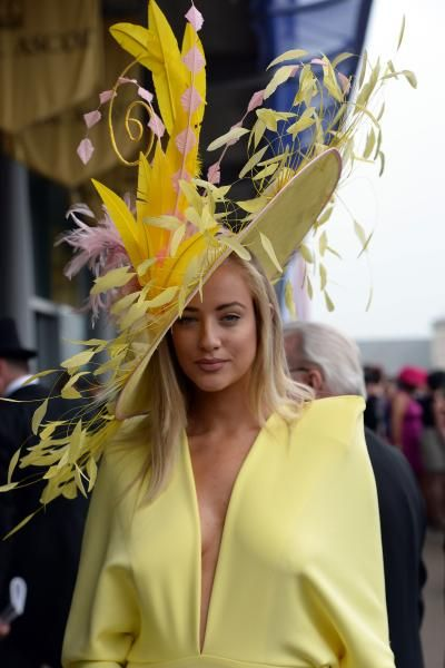 Royal Ascot Hats,  love this entire outfit. A+ for hatness.
