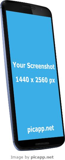 Place your app screenshot in this image with just one click. On Picapp.net it's free to download your work in PC.  #GoogleNexus6 #nobackground #GoogleNexusBlack #mock