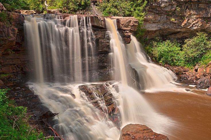 Blackwater Falls - HDR   by freestock.ca ♡ dare to share beauty
