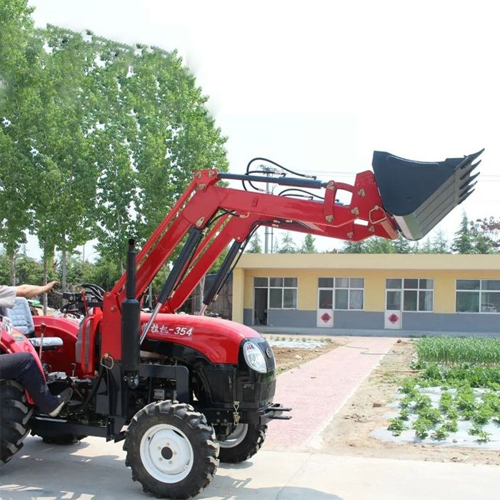 High Quality Tractor With Front Bucket Self-Propelled Backhoe Loader 35HP
