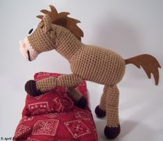 Free Pattern  Have to try this for granddaughter, shes a huge toy story fan