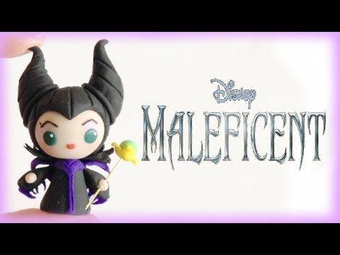 ▶ Disney Maleficent Chibi Kawaii Clay Tutorial by FlyingMio