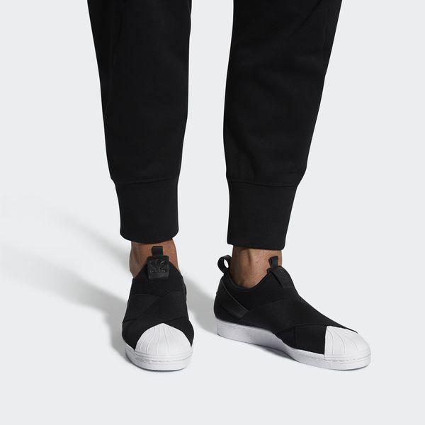 adidas Superstar Slip-on Schoenen - Black | adidas Belgium
