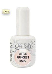Hand & Nail Harmony Gelish Soak Off Gel Nail Polish - Little Princess - 01422 by Hand & Nail Harmony. $10.40. GELISH 01422 0.5OZ. Hand & Nail Harmony Gelish Soak Off Gel Nail Polish - Little Princess - 01422