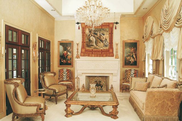 Celebrity living room donald trump celebritylivingrooms donaldtrump celebrity living rooms Trump home bedroom furniture
