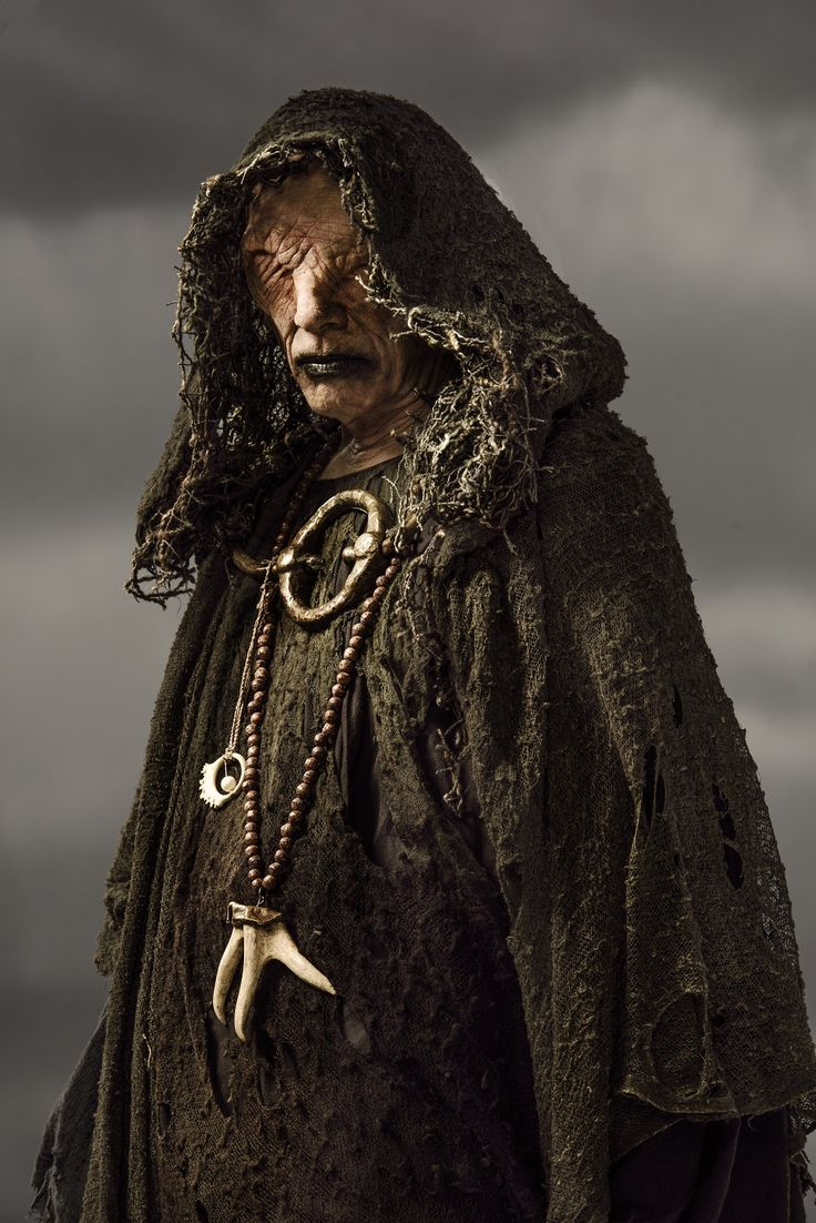 The Seer is an oracle in Kattegat. Seers are mystics and soothsayers with supernatural powers who can communicate with the gods and answer questions about the future and one's fate in life. Vikings believe that their fate is already decided, and they turn to seers to translate the gods' wishes and intentions.