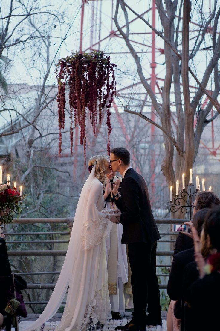 The 10 Most Stylish Stone Fox Brides- Jessica Thompson of International Velvet  Floral by Bricolage Curated Florals