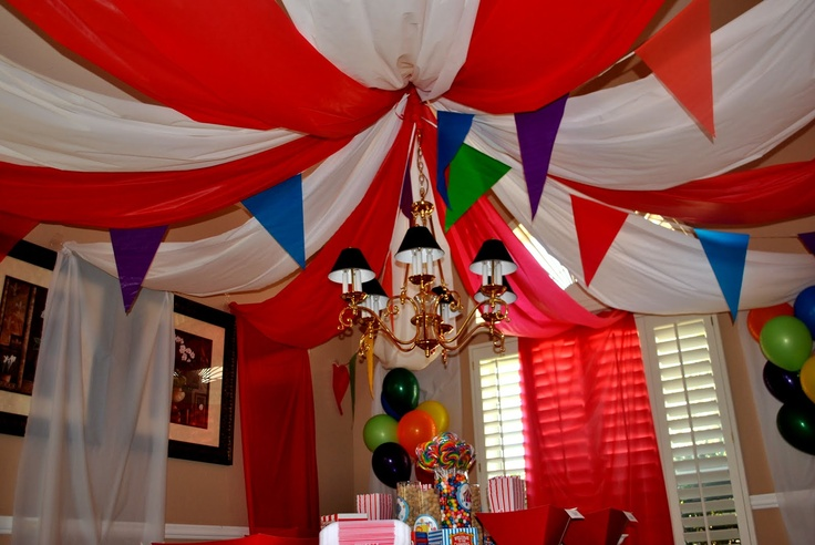 Circus Themed Baby Shower Decor Baby Baby Shower
