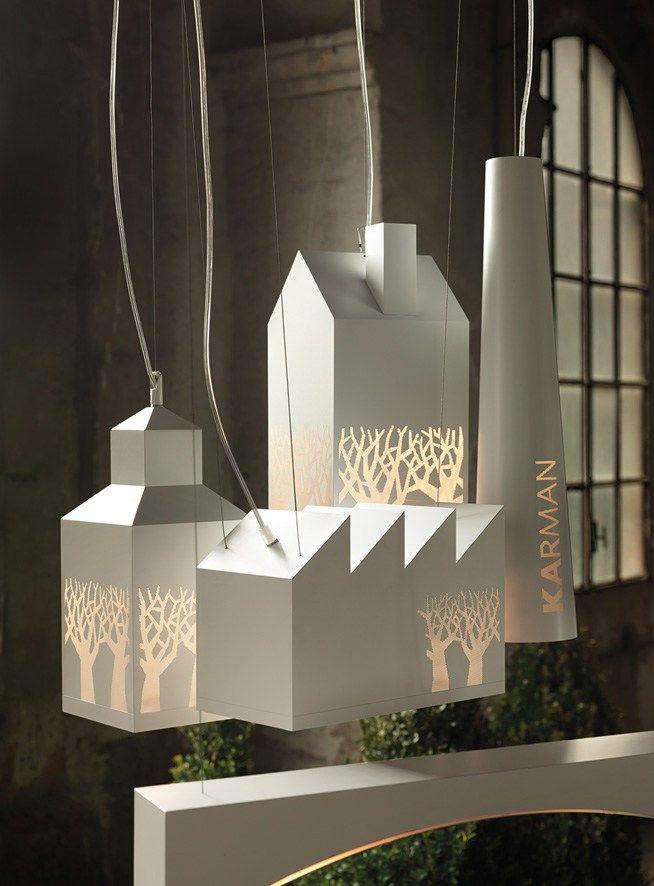 Design Brass Pendant #lamp MY LOVE By @Karman Srl | #design Edmondo  Testaguzza