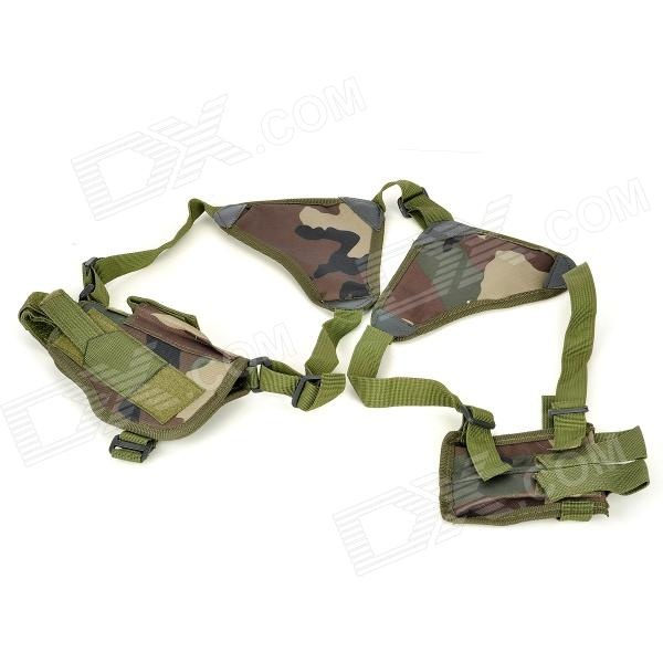 Airsoft Military Jungle Camouflage Gun Pistol Holster  Price: $14.60