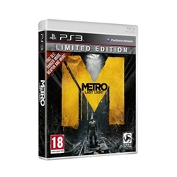 Metro Last Light Limited Edition PlayStation 3. Pre Order Deal. Released May 17. $50 delivered! Deal ends May 11.