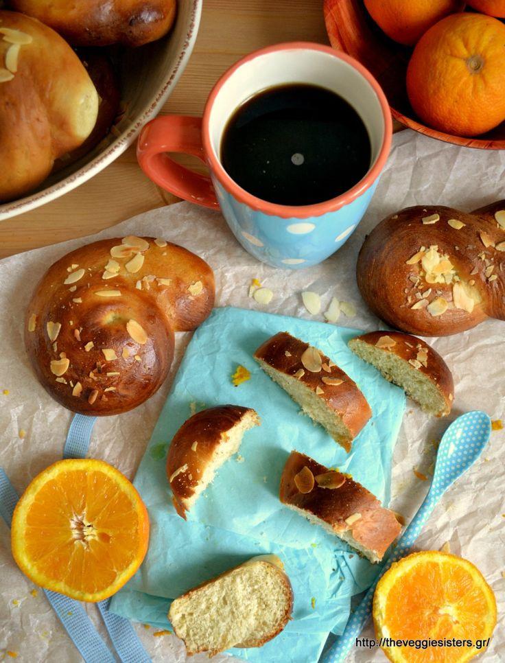 Vegan tsoureki (Greek sweet bread)