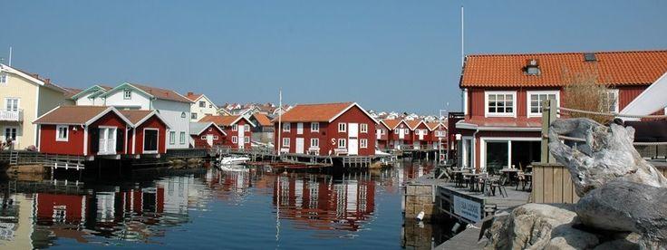 Drie Vissersdorpjes in Zweden