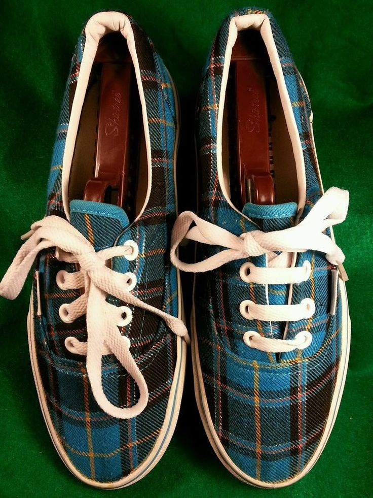 vans off the wall turquoise blue plaid sneakers shoes on off the wall id=96217
