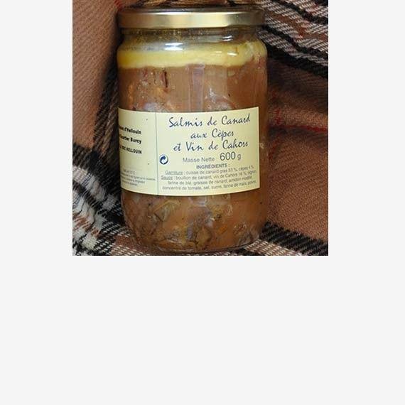 Le salmis de canard aux cèpes et au vin de cahors  un #plat du #terroir élaboré selon ma #recette