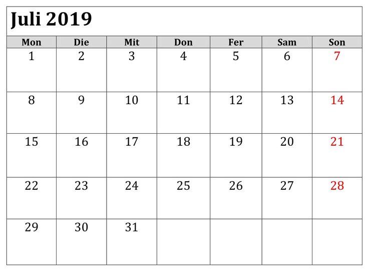 saatgut kalender 2019