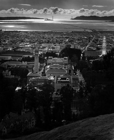 Berkeley and the Golden Gate, April 1965 Photo: Ansel Adams, Bancroft Library (photo newly-discovered)