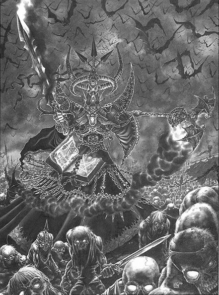 Nagash, by Mark Gibbons (1994)