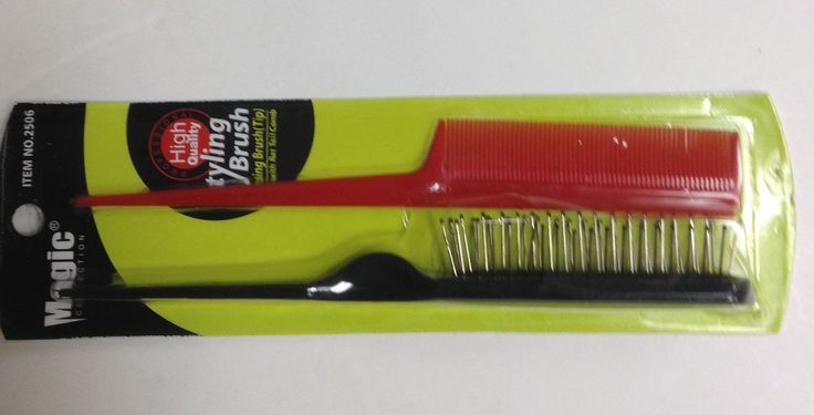Teasing Brush & Rat Tail Comb Combo Pack #2506