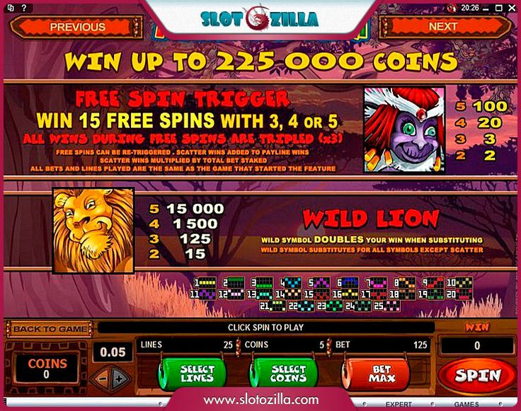 Mega Moolah free #slot_machine #game presented by www.Slotozilla.com - World's biggest source of #free_slots where you can play slots for fun, free of charge, instantly online (no download or registration required) . So, spin some reels at Slotozilla! Mega Moolah slots direct link: http://www.slotozilla.com/free-slots/mega-moolah