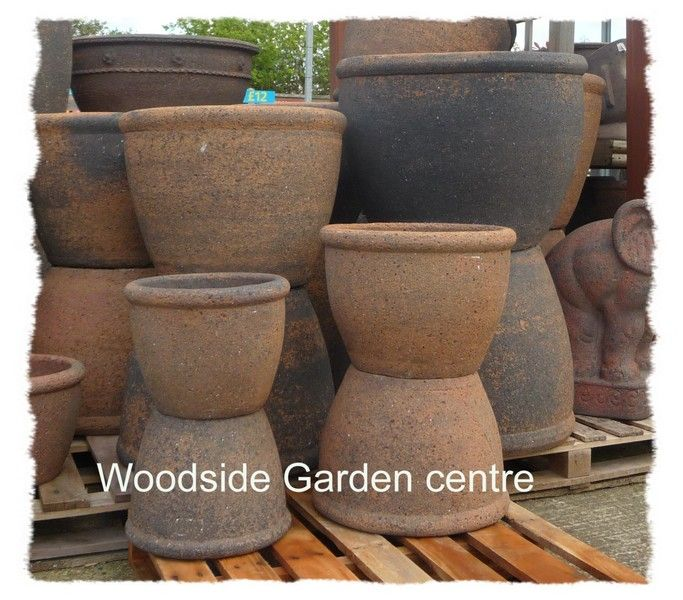 Old Stone Roll Top Garden Pots And Planters | Woodside Garden Centre | Pots  To Inspire