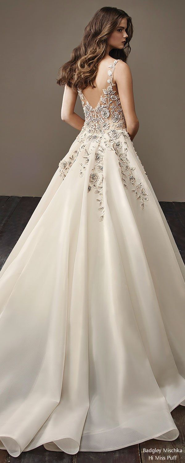 Badgley Mischka Fall Wedding Dresses 2018 – Hi Miss Puff