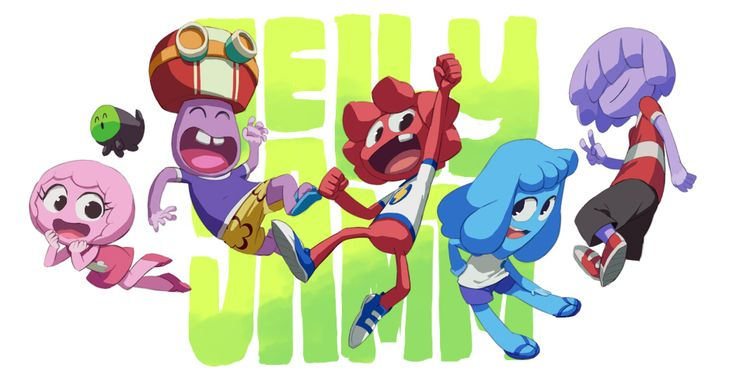 Almost too cool Jelly Jamm fan art created by Nemuri (https://twitter.com/#!/nmrbk) as a gift to one of our animators, Conzalo (https://twitter.com/#!/gondofredo) thank you to you two! :D