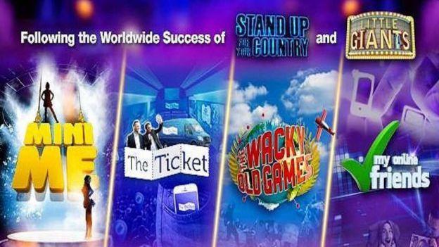 Televisa presentó cuatro nuevos formatos: The Wacky Old Games, Mini Me, The Ticket y My Online Friends