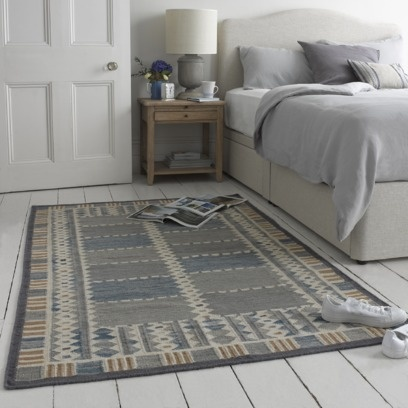 LARS RUG This lovely kilim is based on a vintage Swedish rug whose colours are very soothing and easy to live with. Rather like someone we know called Lars!