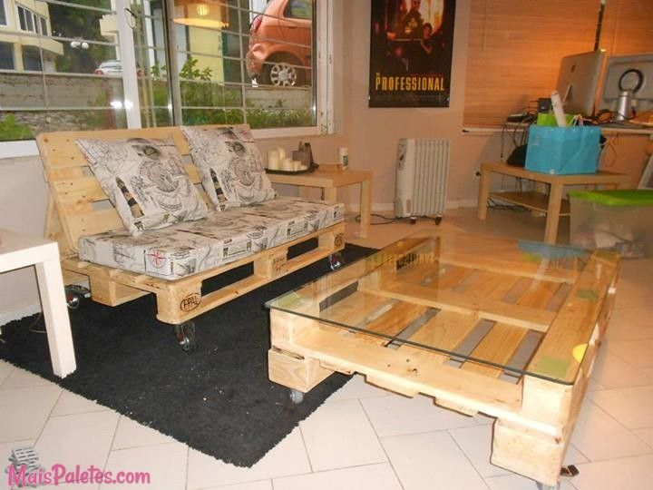 Therefore Functional Stylish And Comfortable Diy Pallet Living Room Furniture Can Truly Transform Your Into The Multipurpose Space That Youve Always