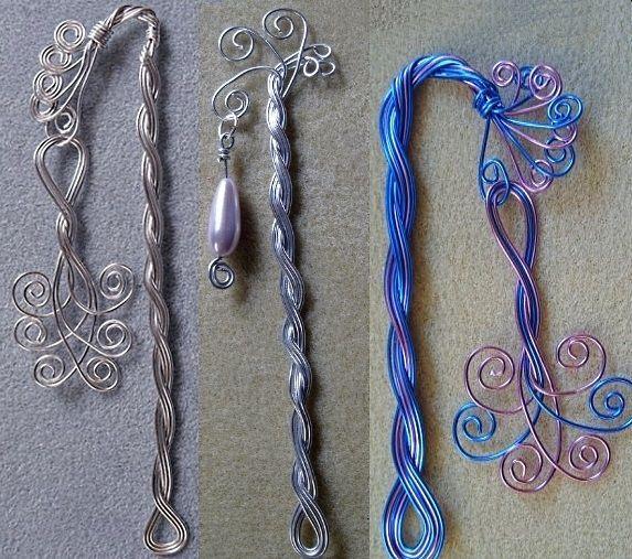 Wirework bookmarks
