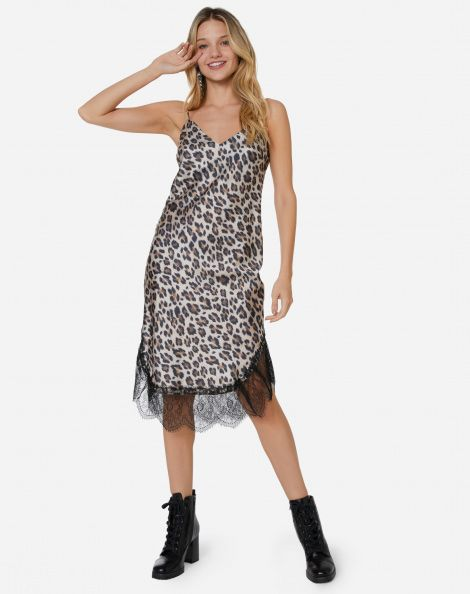 d6d15c9d9 AMARO Feminino VESTIDO MIDI ACETINADO ALCINHA, OFF WHITE in 2019 | Animal  Print | AMARO | Animal print outfits, Summer dresses, Vestidos