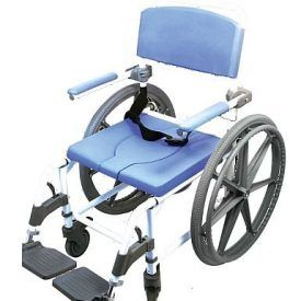Top Mobility Scooters offers the EZee Life aluminum attendant shower and commode chair model# 185-24. It is a hybrid wide 20″ commode and a wheelchair chair in one. The chair comes with two 24″ wheelchair tires and two 5″ locking casters to provide safety when the user does not need to be moved. The seat […]