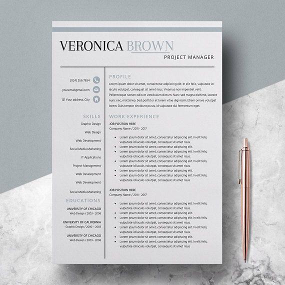 44 best Resume Templates images on Pinterest Cv template, Resume - buy resume templates