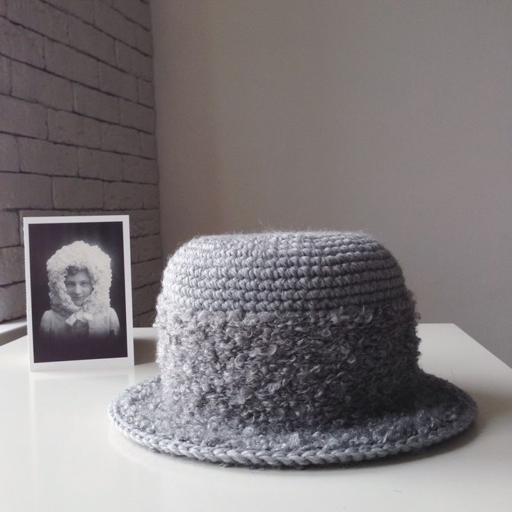 Crochet wool hat by cyxodol. Fall winter 2015 2016 fashion knitwear knit accessories