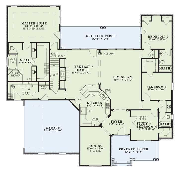 Best Home Plans 126 best floor plans - open concept images on pinterest | country