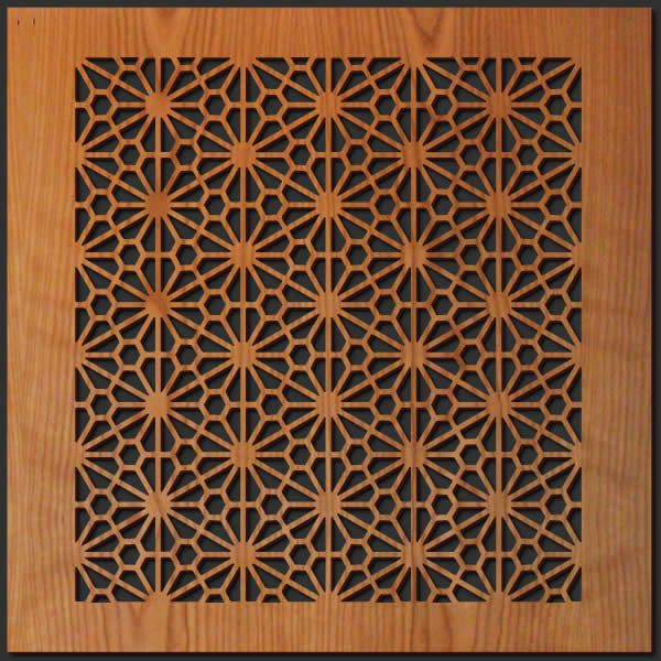 Japanese culture is noted for its understated look of for Wood decoration patterns