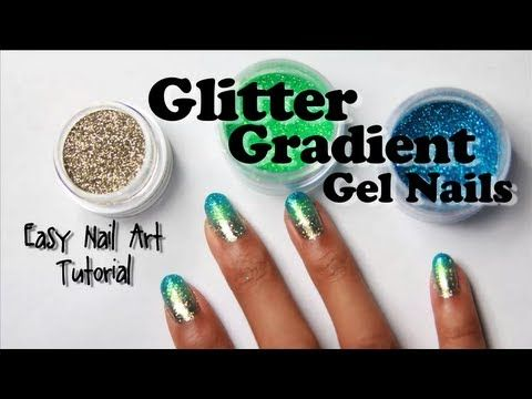 Best 25 gel nail tutorial ideas on pinterest bourjois top coat glitter gradient gel nails with loose glitter easy nail art tutorial gelnails prinsesfo Choice Image